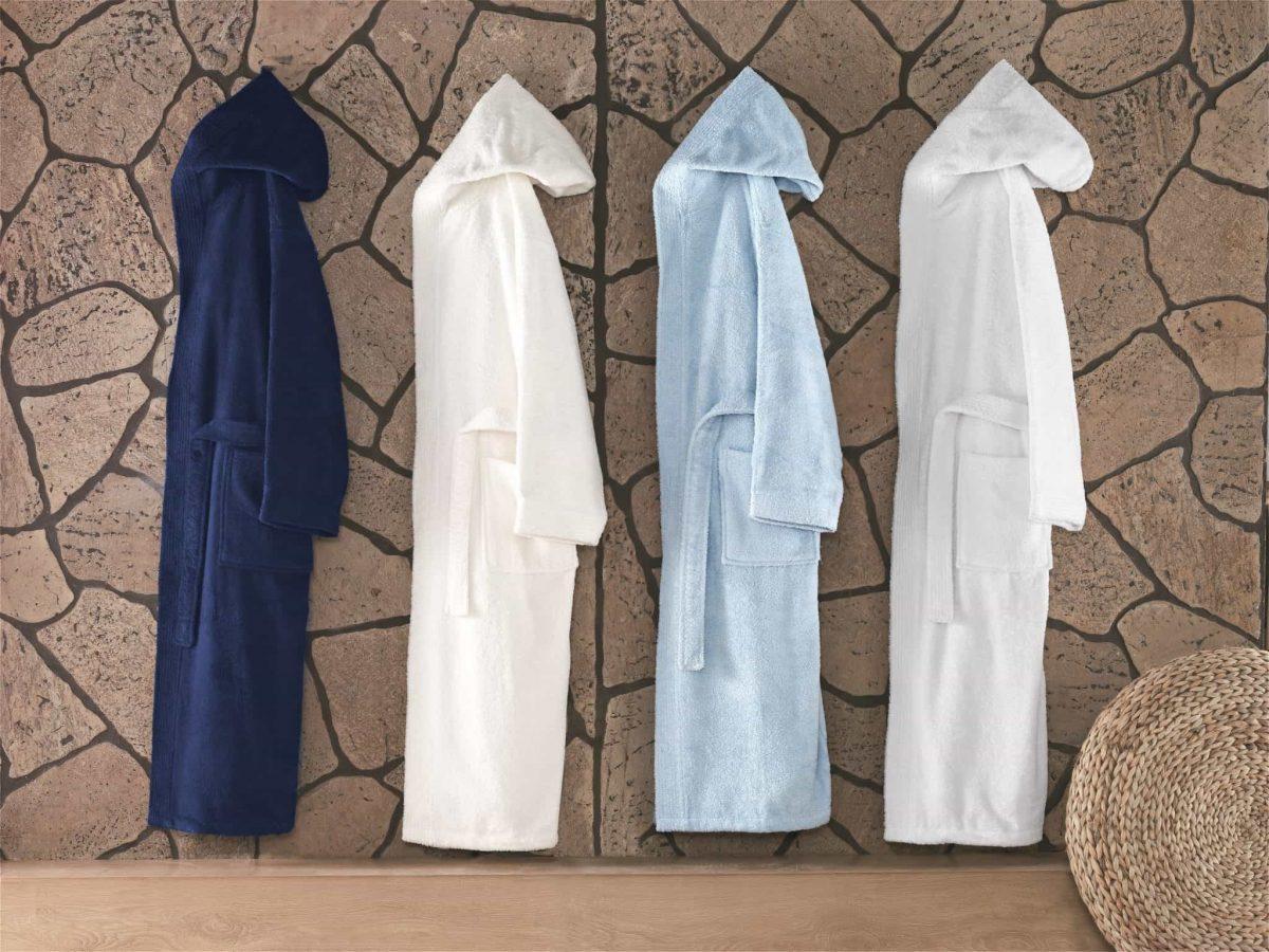 Hooded Turkish Bathrobe