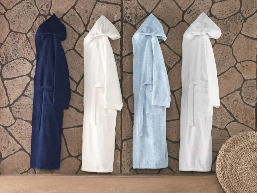 Hooded Turkish Bathrobe