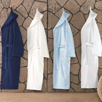 Shawl Collar Turkish Bathrobe