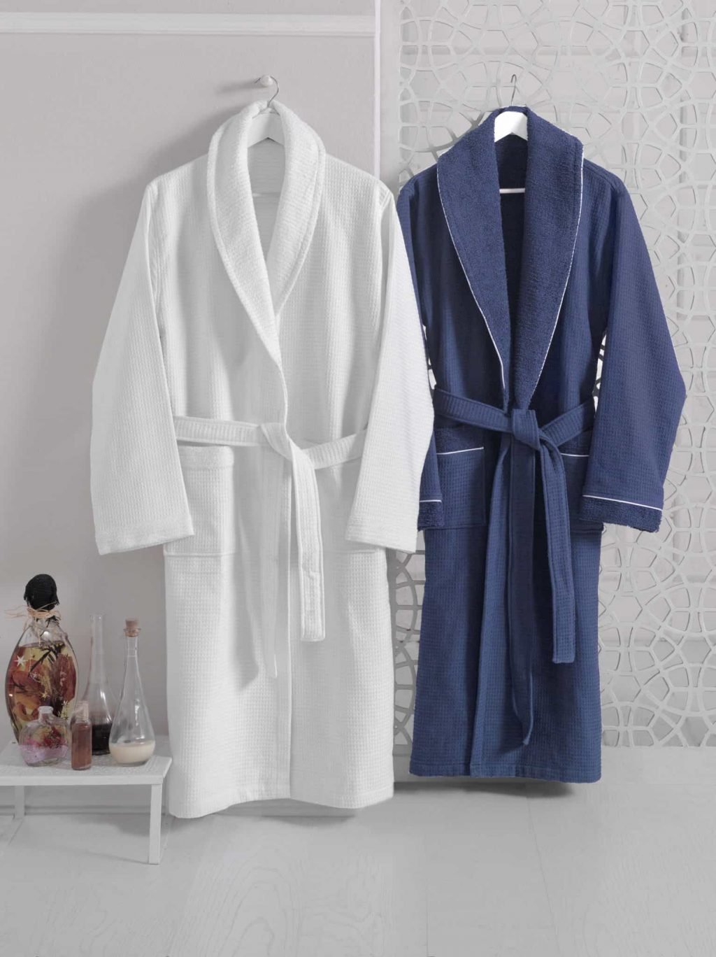 Waffle Terry Turkish Bathrobe