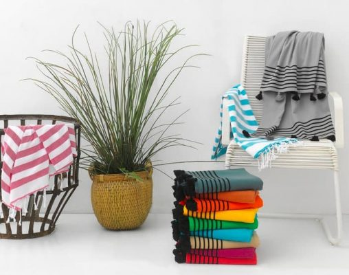 Capri Pestemal Cotton Turkish Beach Towel