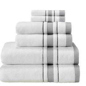 6 pcs Set ( 2 Bath, 2 Hand, 2 Wash )