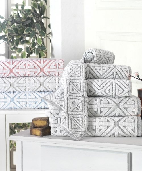 Glamour Turkish Towels by Enchante Home - luxury bath linens and bed linens