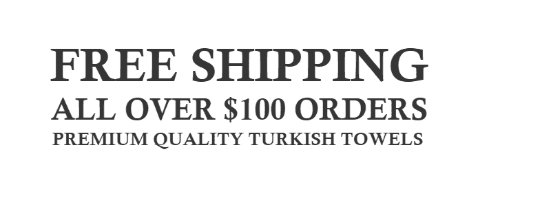 Free Shipping All over $100 bath towels, bathrobes, beach towels and bath mats orders.