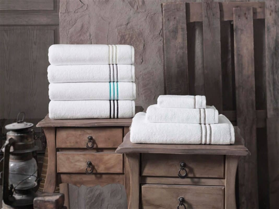 broderie turkish towels by Enchante home