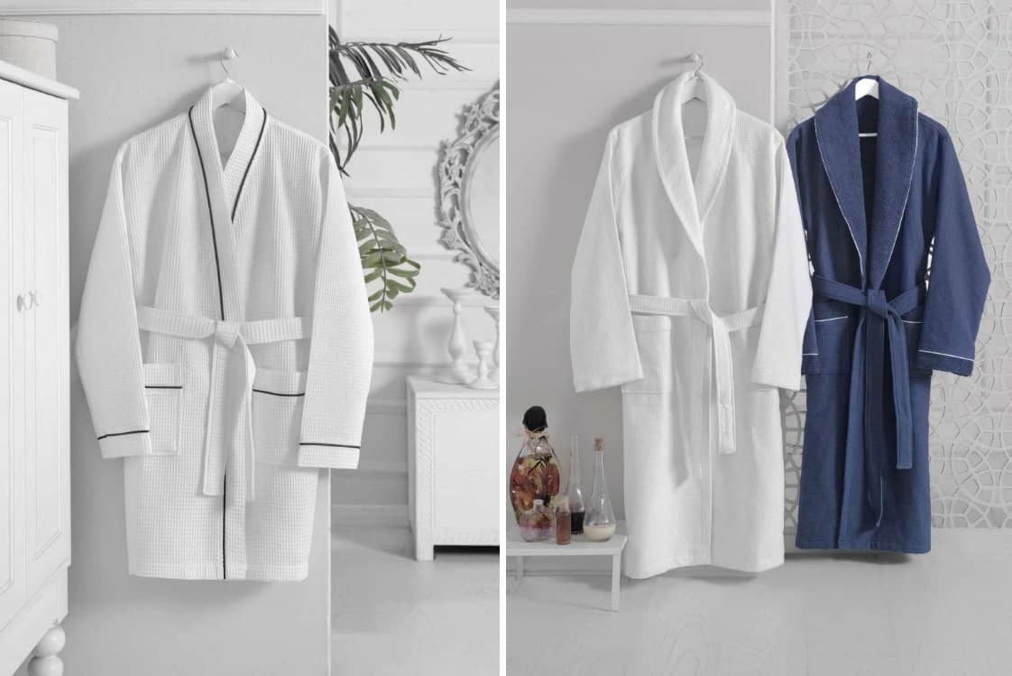 turkish bathrobes by Enchante Home