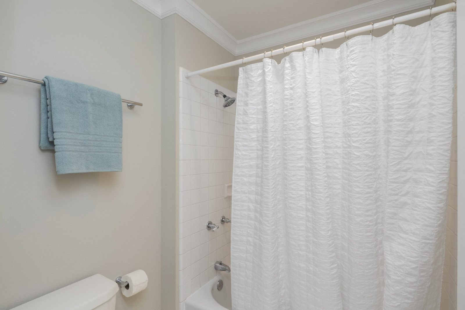 how to clean a shower curtain