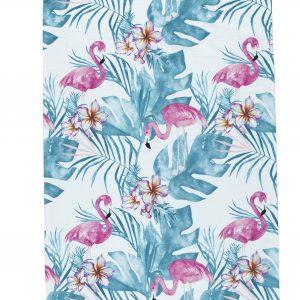 Flamingo Turkish Cotton Beach Towels