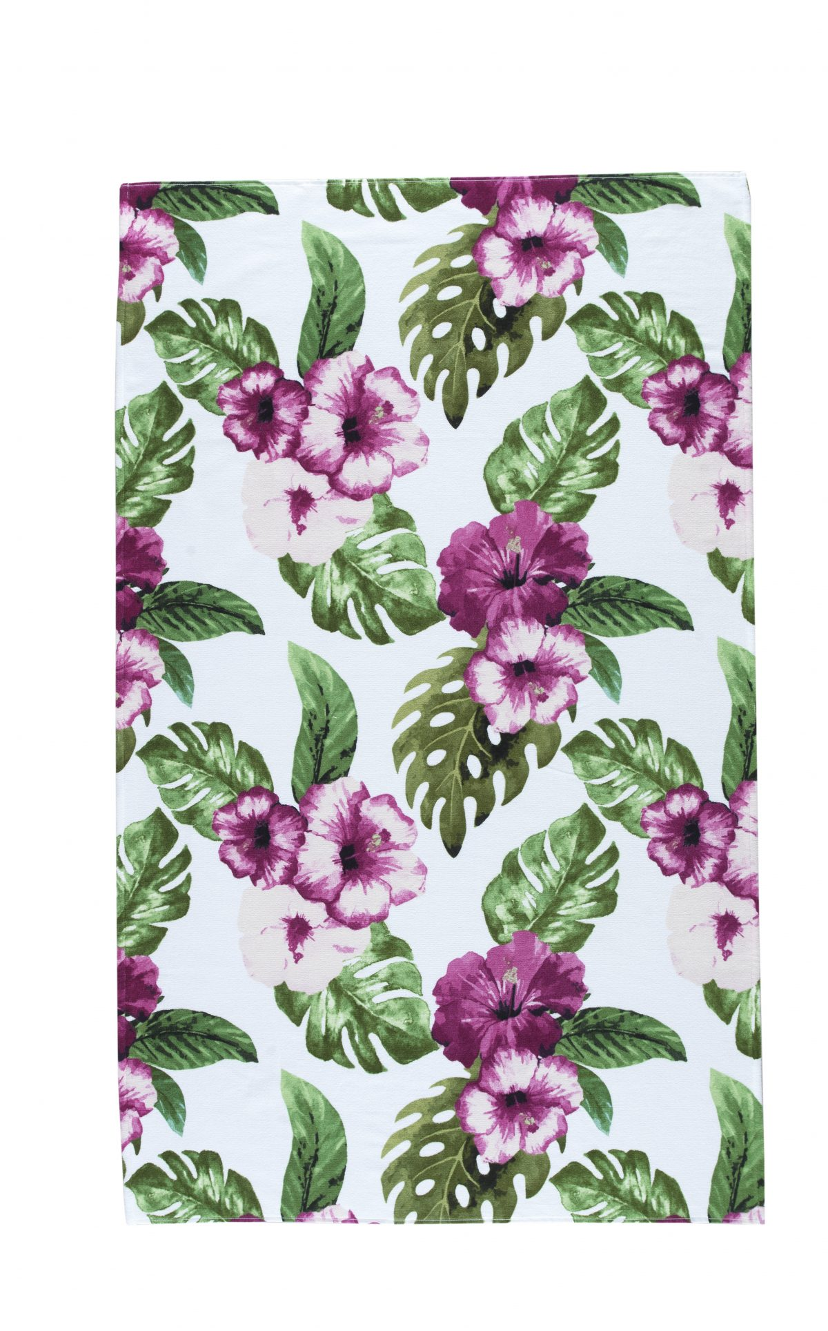 Floral Turkish Cotton Beach Towels