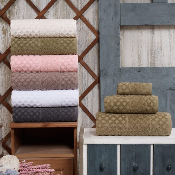 Enchante Home Glossy Turkish Towels